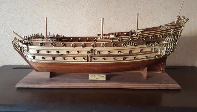 Le HMS Prince 1670 de Constructo au 1/61e de Captain Chris - Page 7 Clap13