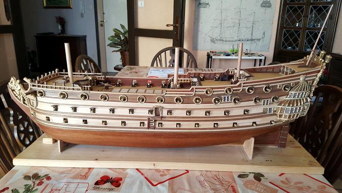 Le HMS Prince 1670 de Constructo au 1/61e de Captain Chris - Page 5 Mantel12