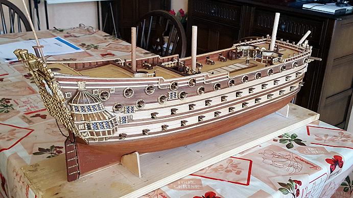 Le HMS Prince 1670 de Constructo au 1/61e de Captain Chris - Page 5 Mantel18