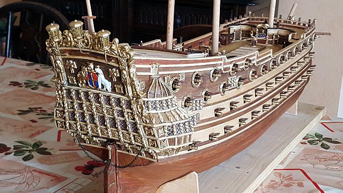 Le HMS Prince 1670 de Constructo au 1/61e de Captain Chris - Page 5 Mantel19