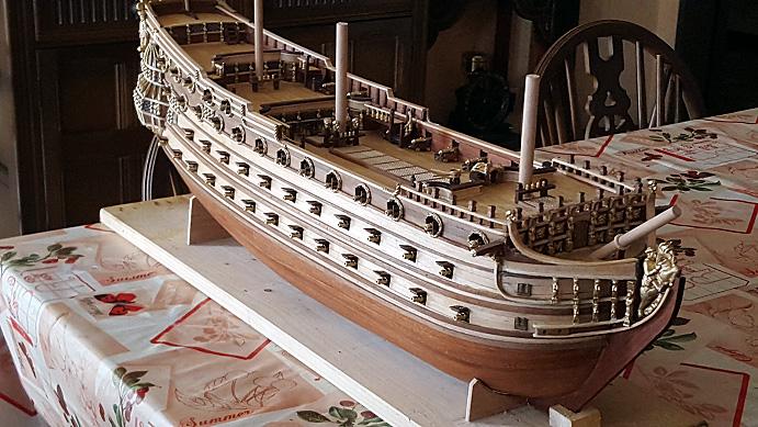 Le HMS Prince 1670 de Constructo au 1/61e de Captain Chris - Page 5 Mantel21