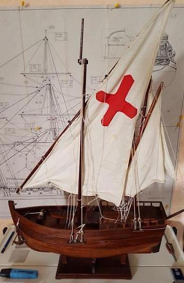 Reconstruction de la Nina (Christophe Colomb - 1492) Nina_113