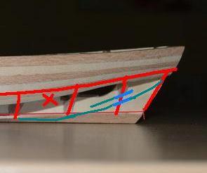 Débutant première construction Jolly boat HMS Bounty  - Page 7 Quilll10