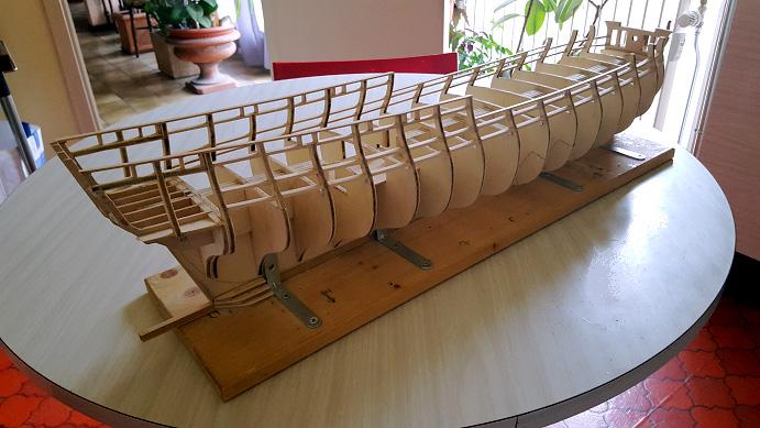 La Confederacy de 1772 au 1/64 par Model Shipways Sommie19