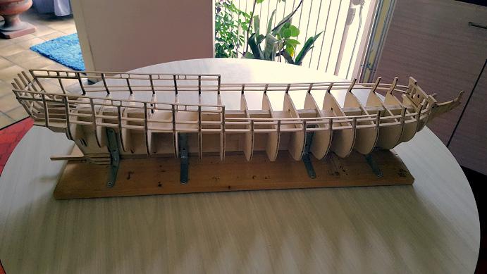 La Confederacy de 1772 au 1/64 par Model Shipways Sommie20