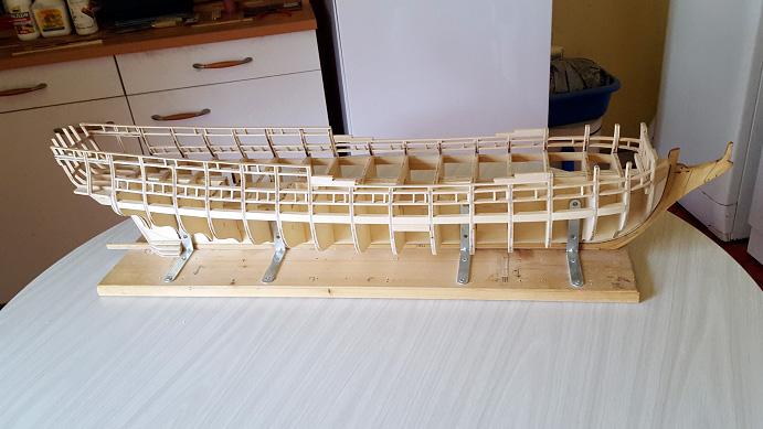 La Confederacy de 1772 au 1/64 par Model Shipways - Page 2 Sweep_20