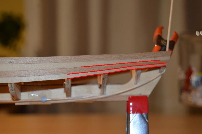 Débutant première construction Jolly boat HMS Bounty  - Page 7 Traver10