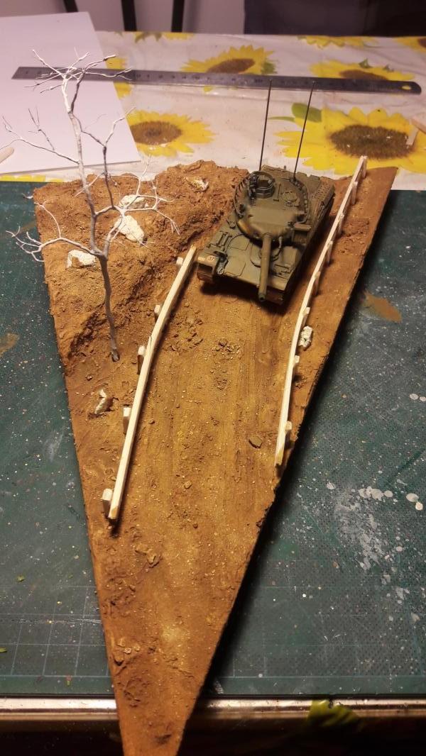 Diorama mise en situation de l'AMX 30 et clap de fin !!!!! 1221