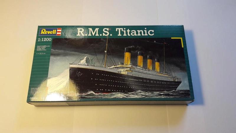 Rms Titanic 1/1200 il est fini!!!! 123