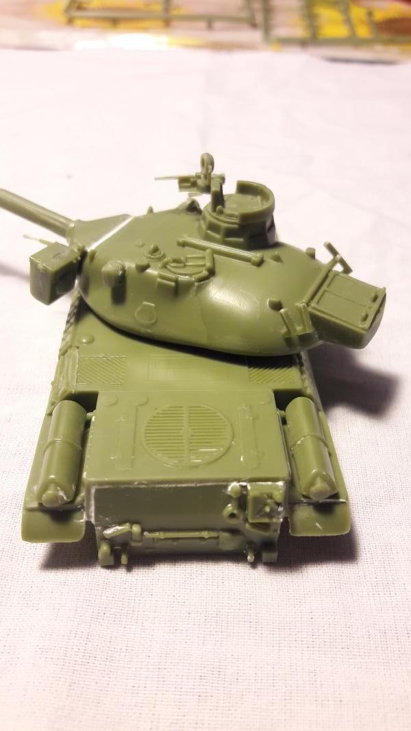 AMX 30B 105mm montage terminé 1318