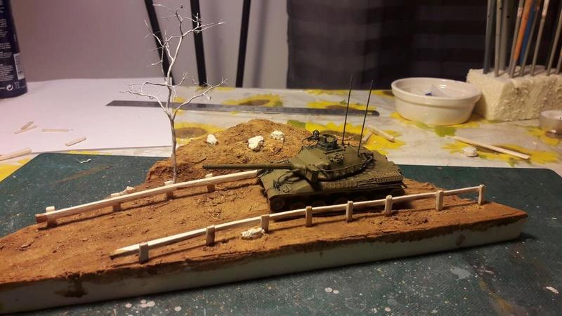 Diorama mise en situation de l'AMX 30 et clap de fin !!!!! 1320