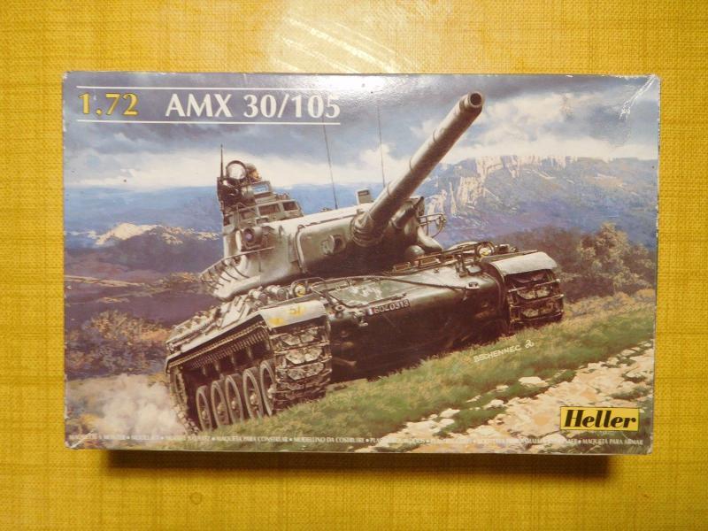 AMX 30B 105mm 4ème cuirassé Bitche1978 133