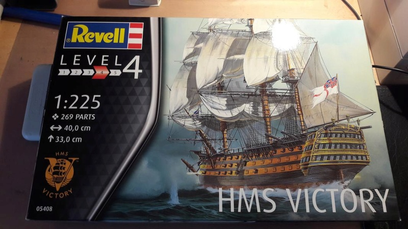 Revell HMS VICTORY 1/225 140