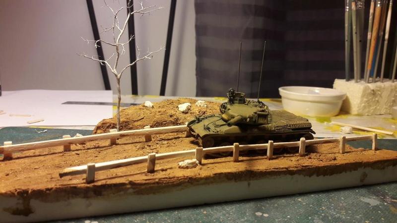 Diorama mise en situation de l'AMX 30 et clap de fin !!!!! 1422