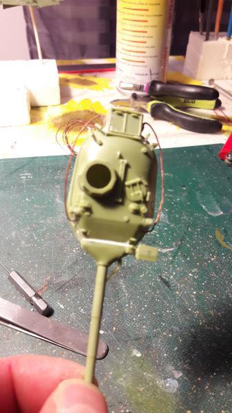 AMX 30B 105mm montage terminé 1523