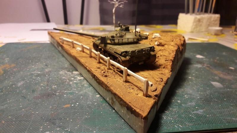 Diorama mise en situation de l'AMX 30 et clap de fin !!!!! 1525
