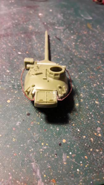 AMX 30B 105mm montage terminé 1621