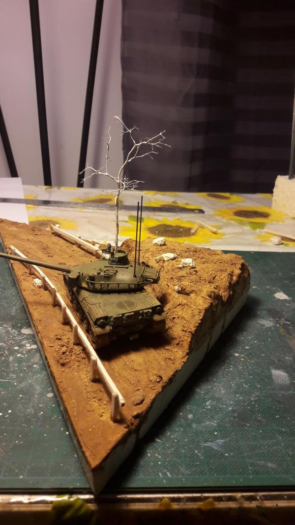 Diorama mise en situation de l'AMX 30 et clap de fin !!!!! 1623
