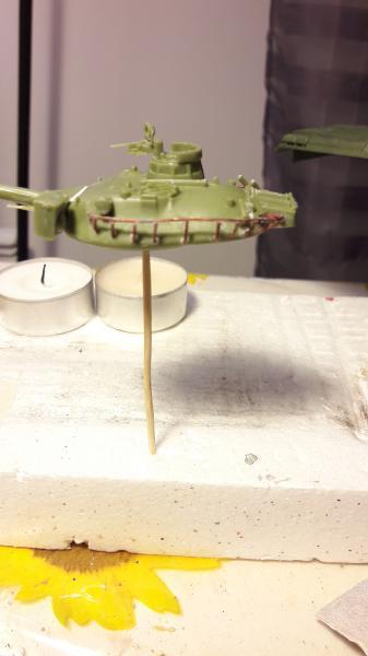 AMX 30B 105mm montage terminé 1820