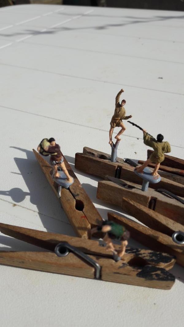 Quelques marins Espagnols au 1/72 ils Sont finis 1923