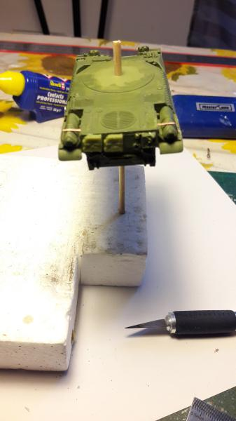 AMX 30B 105mm montage terminé 2218