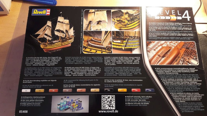 Revell HMS VICTORY 1/225 231