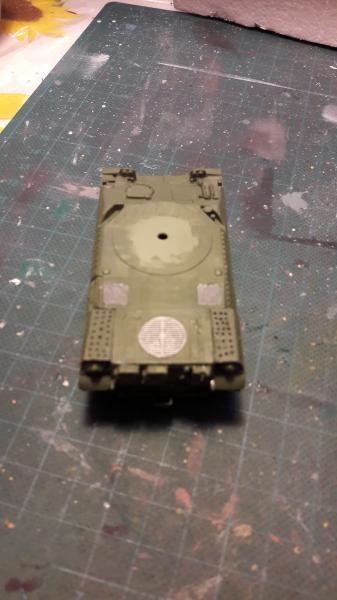 AMX 30B 105mm montage terminé 2516