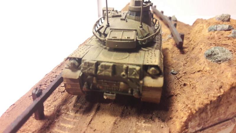 Diorama mise en situation de l'AMX 30 et clap de fin !!!!! 2517