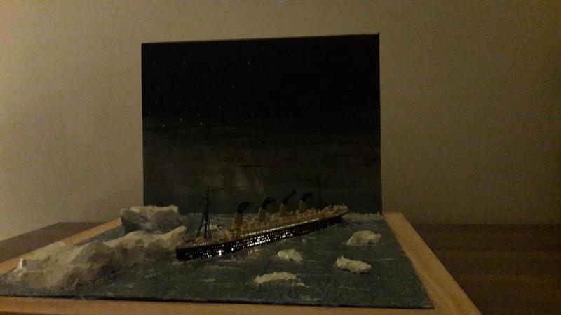 Dio : Le Titanic un peu avant le drame (1/1200°) par antoine17690 2614