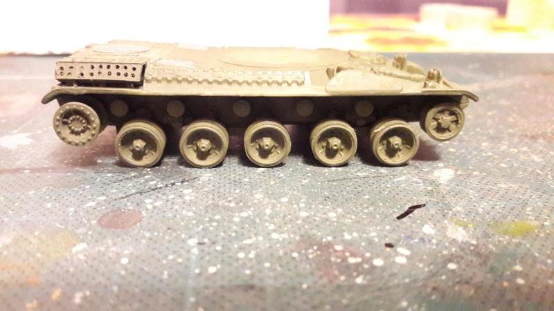 AMX 30B 105mm montage terminé 2617