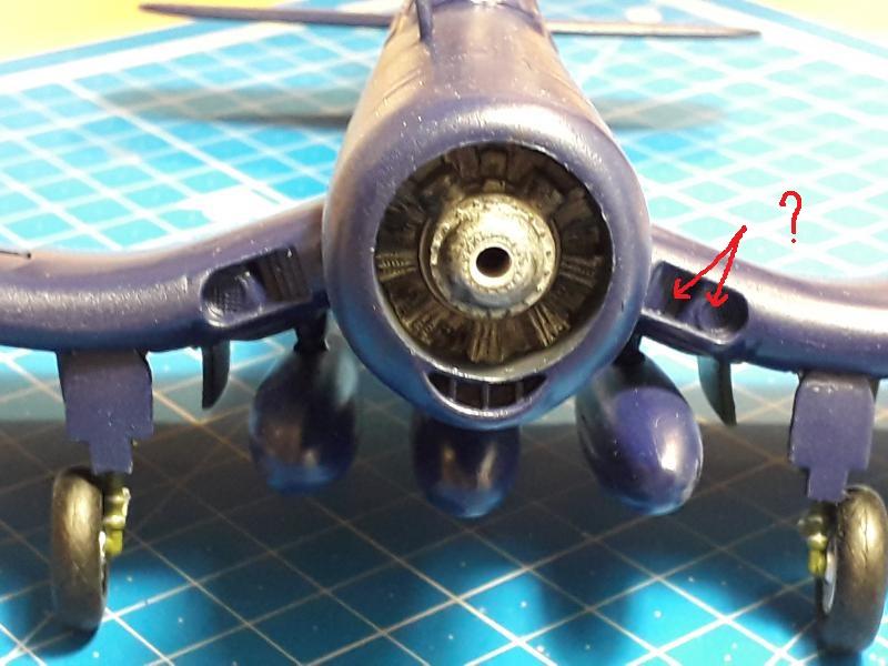 F4U-4 Corsair FINI !!!!!!!!! - Page 3 26a11