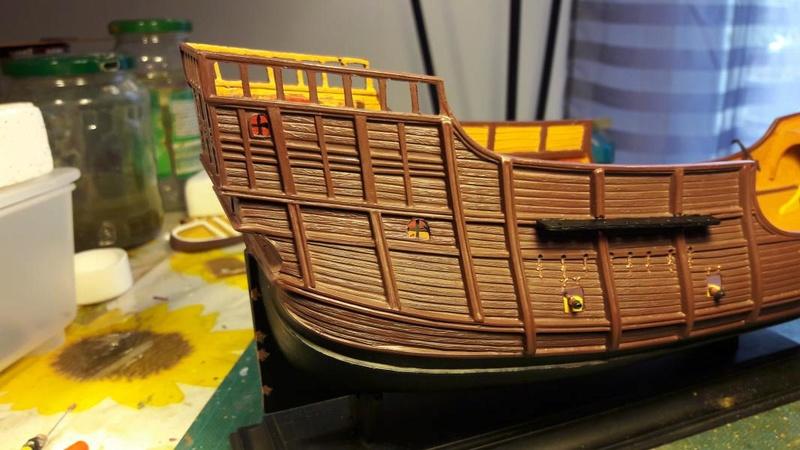 La Santa Maria le bateau est fini !!!!!!! - Page 2 2820