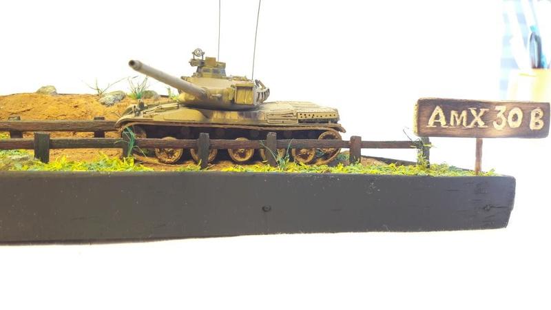 Diorama mise en situation de l'AMX 30 2919
