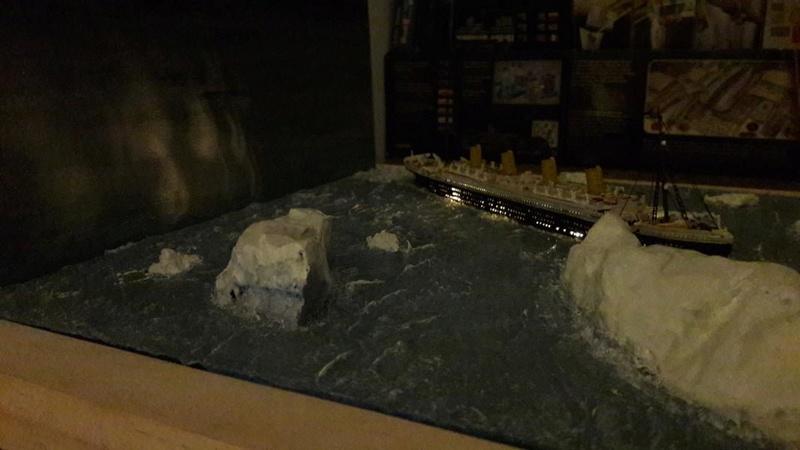 Dio : Le Titanic un peu avant le drame (1/1200°) par antoine17690 3014