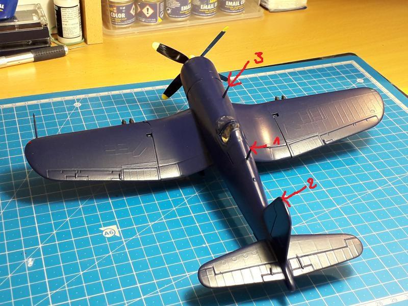 F4U-4 Corsair FINI !!!!!!!!! - Page 3 30a10