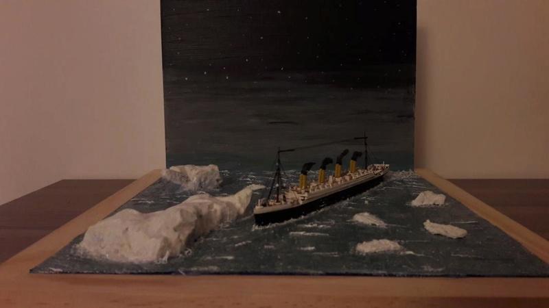 Dio : Le Titanic un peu avant le drame (1/1200°) par antoine17690 3115