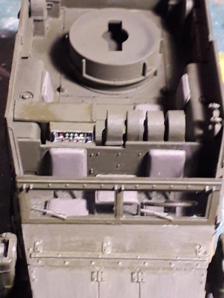 U.S. Multiple Gun Motor Carriage M16 1/35 Tamiya  FINI !!!!!!!! 3131