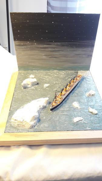 Dio : Le Titanic un peu avant le drame (1/1200°) par antoine17690 3215