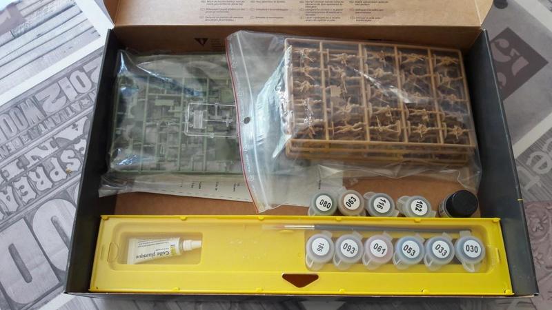 Ouvre boite Sainte Mère L'eglise 1/72 329