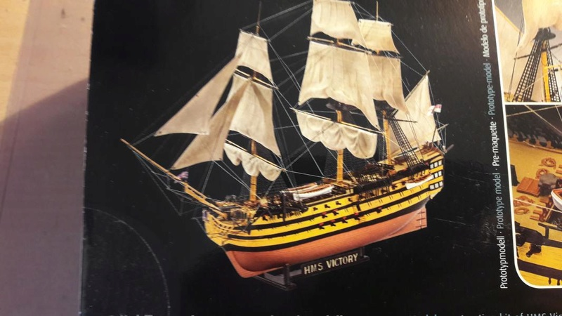 Revell HMS VICTORY 1/225 331