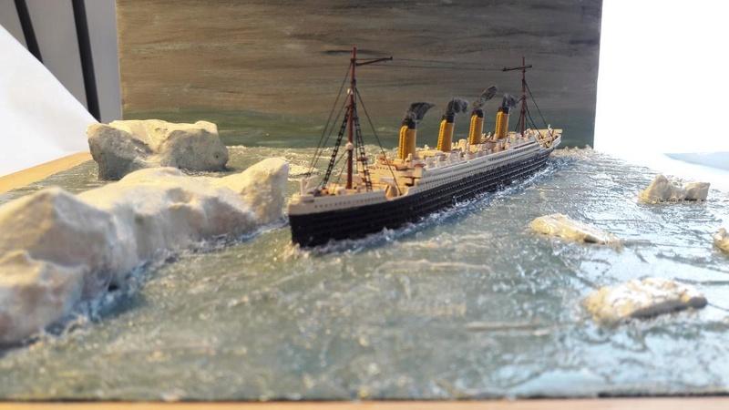 Dio : Le Titanic un peu avant le drame (1/1200°) par antoine17690 3315