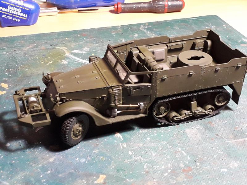 U.S. Multiple Gun Motor Carriage M16 1/35 Tamiya  FINI !!!!!!!! 3328