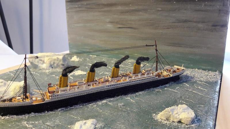 Dio : Le Titanic un peu avant le drame (1/1200°) par antoine17690 3414
