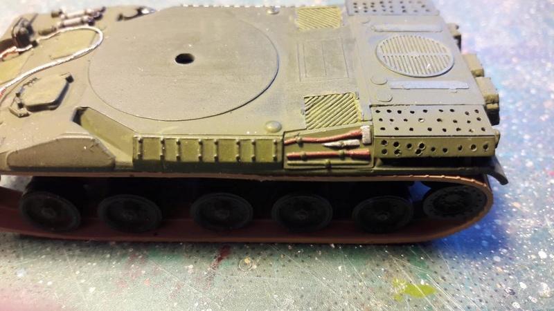 AMX 30B 105mm montage terminé 3417