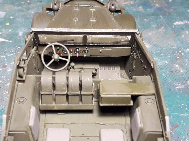 U.S. Multiple Gun Motor Carriage M16 1/35 Tamiya  FINI !!!!!!!! 3426