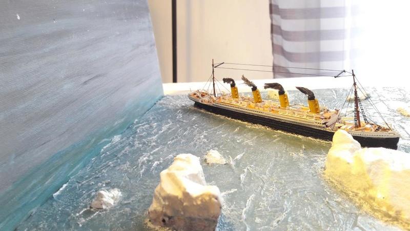 Dio : Le Titanic un peu avant le drame (1/1200°) par antoine17690 3514
