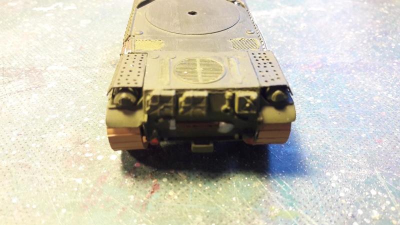AMX 30B 105mm montage terminé 3517