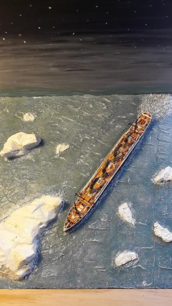 Dio : Le Titanic un peu avant le drame (1/1200°) par antoine17690 3614