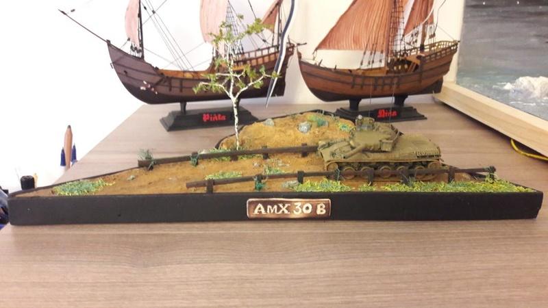 Diorama mise en situation de l'AMX 30 et clap de fin !!!!! 3619