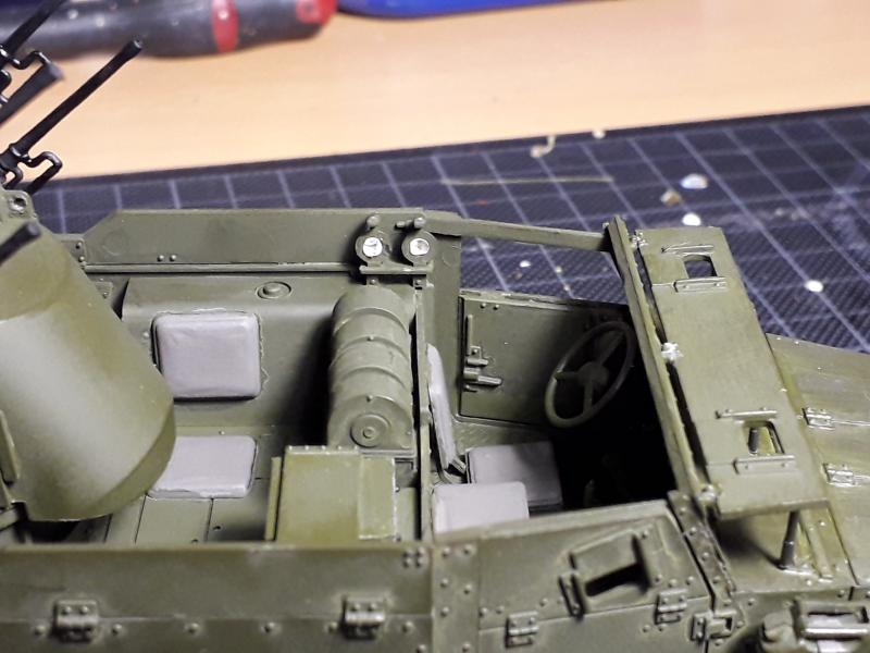 U.S. Multiple Gun Motor Carriage M16 1/35 Tamiya  FINI !!!!!!!! 3626